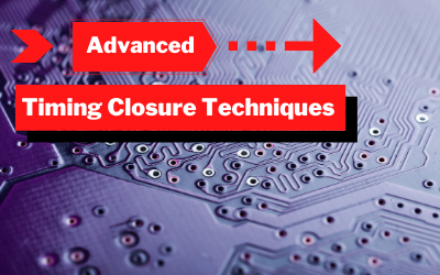Advanced Timing Closure Techniques for the Vivado Design Suite